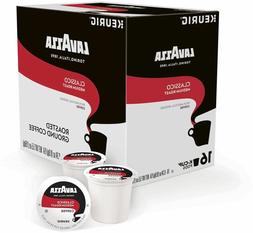 Lavazza Classico Coffee 16 to 96 Keurig K cups Pick Any Quan