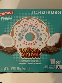 The Original Donut Shop Coconut Mocha Coffee Medium Roast Ex