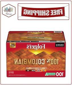 Folgers 100% Colombian Medium Dark Roast Coffee