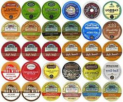 30-count Top Brand Coffee, Tea, Cider, Hot Cocoa and Cappucc