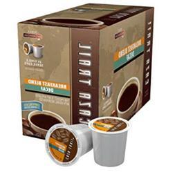 Caza Trail Coffee, Decaf Breakfast Blend, 24 Single Serve Cu