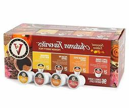 Victor Allen coffee Autumn Favorites variety K-cup 96 count