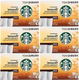 Starbucks Coffee Caramel Flavored Keurig K-Cups Pods Medium