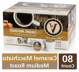 Victor Allen Coffee, Caramel Macchiato Single Serve K-cup, 8