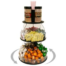 "Coffee Condiment Organizer 12"" W X 16"" H. Plus Comes with Re"