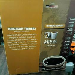 CAZA TRAIL COFFEE CREAMY HAZELNUT 100 CT SINGLE SERVE K CUPS