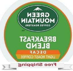 GREEN MOUNTAIN COFFEE DECAF BREAKFAST BLEND Keurig k-cups YO