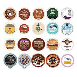 Custom Variety Pack Coffee Sampler for Keurig K-Cup Brewers,