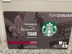 Starbucks Coffee French Roast Dark Roast Arabica 60 K-Cup Po
