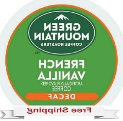 GREEN MOUNTAIN COFFEE FRENCH VANILLA DECAF Keurig k-cups YOU