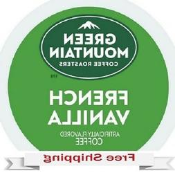GREEN MOUNTAIN COFFEE FRENCH VANILLA Keurig k-cups YOU PICK