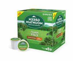 Green Mountain Coffee Half-Caff K-Cups, Medium Roast,