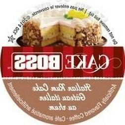 Cake Boss Coffee - Italian Rum Cake - 48 Single Serve K Cups