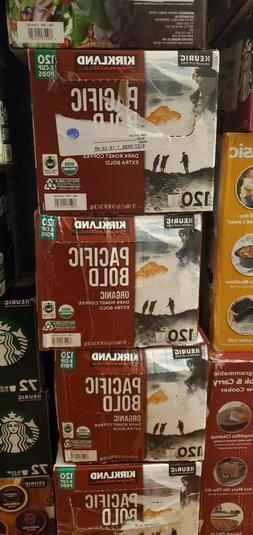 Kirkland Signature Coffee Keurig K-Cups, Pacific Bold Dark {