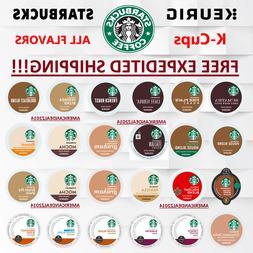 Starbucks Coffee Keurig K-Cups PICK FLAVOR & QUANTITY- FREE