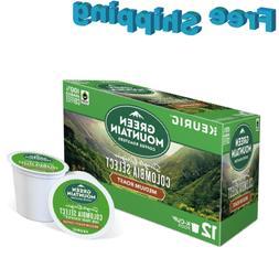 Green Mountain Coffee Keurig k-cups SINGLE ORIGIN COLOMBIA S
