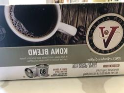 Victor Allen Coffee Kona Blend Single Serve K-cup 80 Count K