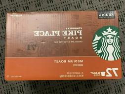 Starbucks Coffee Pike Place Medium Smooth Roast Arabica 60 K