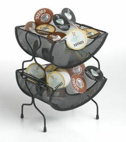 Coffee Pod Holder K-Cups Kitchen Baskets Storage Basket Coun