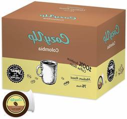 Colombia Medium Roast K Cups 76 Count Keurig Coffee Pods Pre