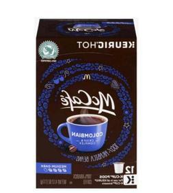 McCafe Colombian Coffee Keurig 12 k-cups
