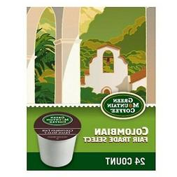 Green Mountain Colombian Fair Trade Select Coffee, K-cups 24