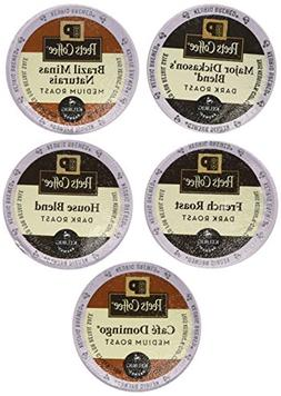 New! 20 K-cup Peets Coffee Sampler Variety Pack *No Decaf*