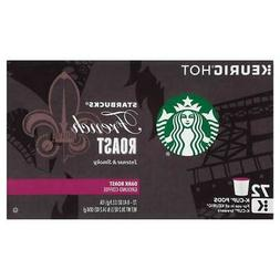 Starbucks Dark French Roast K-Cup 72-Count K Cups Keurig BBD