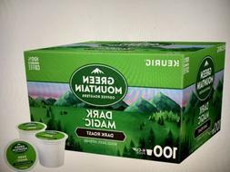 Green Mountain Dark Magic Dark Roast Coffee Keurig K-Cups  G