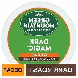 Green Mountain Dark Magic decaf Keurig K-Cups Dark Roast Cof