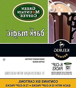 Green Mountain Coffee Dark Magic Extra Bold Keurig K-Cups 72