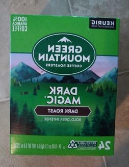 Green Mountain Dark Magic Keurig K-Cups 24 Count - FREE SHIP