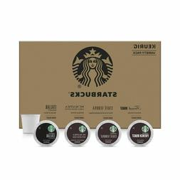 Starbucks Dark Roast Coffee Variety Pack for Keurig Brewers,