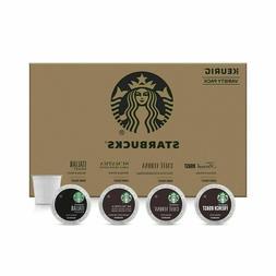 Starbucks Dark Roast Coffee Variety Pack for Keurig Brewers,