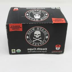 DEATH WISH COFFEE DEATH K-Cups - 10 pk Single Serve Coffee P