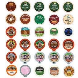 Decaf Coffee Variety Sampler Pack for Keurig K-Cup Brewers,