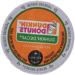 Dunkin Donuts Decaf Coffee K-Cups For Keurig K Cup Brewers -