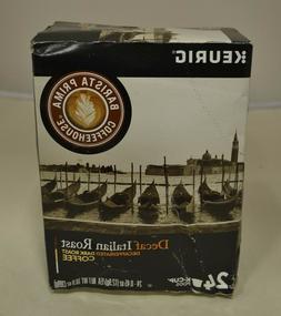Barista Prima Decaf Dark Roast Coffee, Italian Roast, 24 Cou