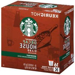 Starbucks Decaf House Blend Coffee 128 K-Cup Pods