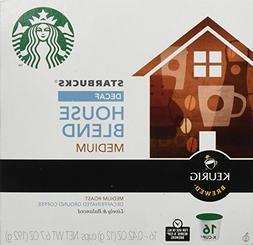 Starbucks Decaf House Blend Medium Roast Keurig K-Cups