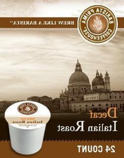 Barista Prima Decaf Italian Roast K-Cup Coffee 72 count