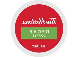 108 Keurig K-cups Tim Hortons DECAF medium roast Coffee 6 bo