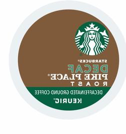 Starbucks DECAF Pike Place Coffee 24 to 144 Keurig Kcups Pic