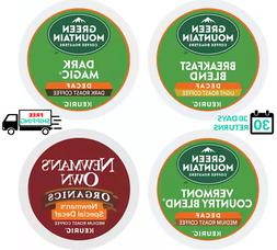 Green Mountain Decaf Variety Coffee Pack Keurig K-cups YOU P
