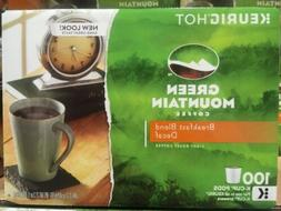 Green Mountain Decaffeinated Coffee, Breakfast Blend