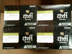 Peet's Coffee Decaffeinated House Blend Dark Roast Coffee K-