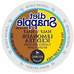 Snapple Diet Half 'n Half Lemonade Iced Tea 22 to 132 Keurig