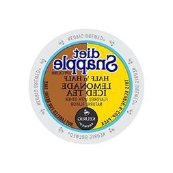 Diet Snapple Half'n Half Lemonade Iced Tea Keurig K-Cups, 22
