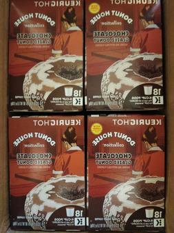 Donut House CHOCOLATE GLAZED DONUT K Cups Keurig Coffee 12 t