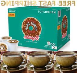 Donut Shop Coffee, Regular Medium Roast, Keurig K-Cups, 100-